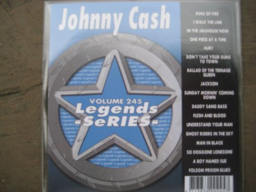 LEGENDS #245 Karaoke CDG All Hits of JOHNNY CASH