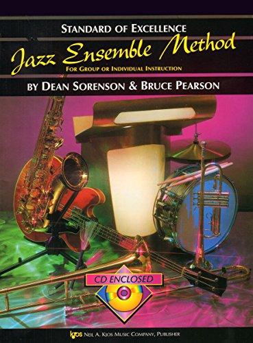 W31TB3 – Standard of Excellence – Jazz Ensemble Method Book/CD – 3rd Trombone