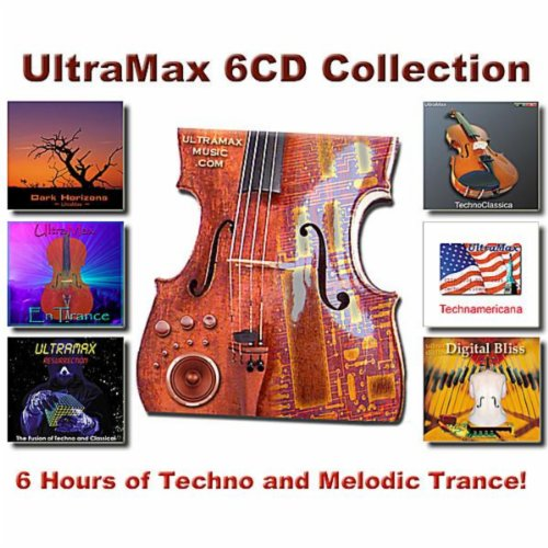 6-CD Special: 6 Hours of Techno and Melodic Trance!