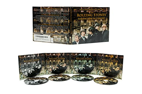 The Rolling Stones – Satisfaction In Concert: The Classic Broadcasts 1964-1966 [4 CD Set]