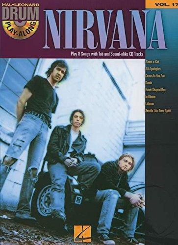 Nirvana Drum Play-Along Vol. 17 BK/CD
