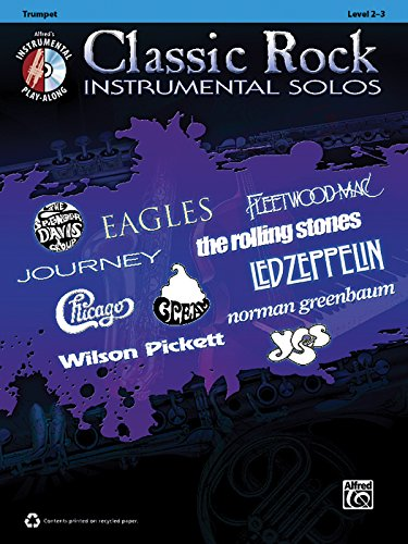Classic Rock Instrumental Solos: Trumpet, Book & CD (Pop Instrumental Solo Series)