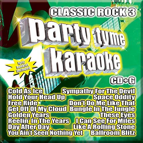 Party Tyme Karaoke – Classic Rock 3 [16-song CD+G]