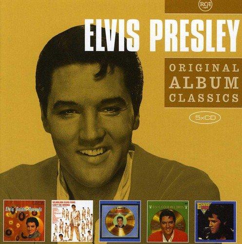 (Vol 2) 5cd Original Album Classics- 5cd Slipcase (Elvis Gold Records Vo L.1Elvis Gold Records Vol.